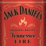 Jack Daniels Fire Label