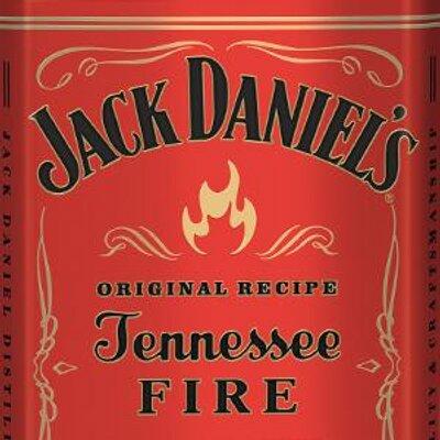 Jack Daniels Fire Label